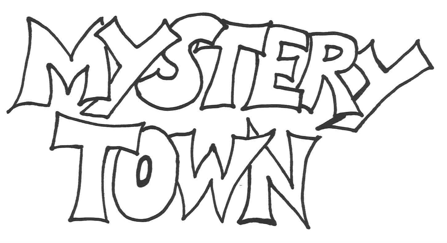 Mystery town logo
